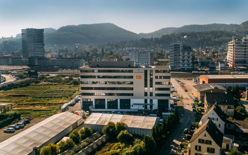 Büro Gebäude 2