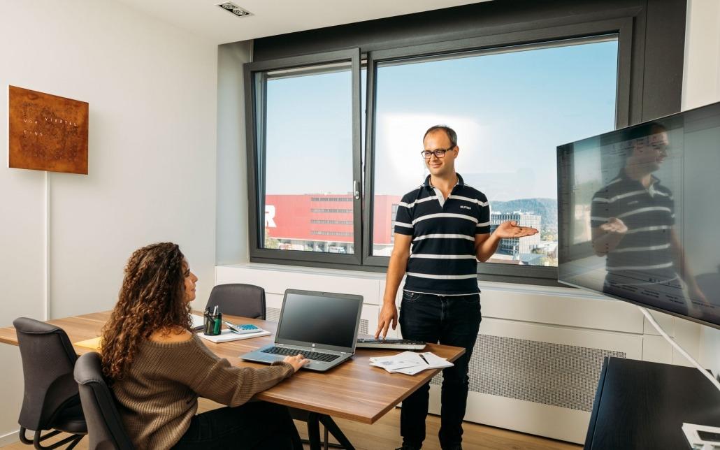 Schäublin Büro Meetingraum